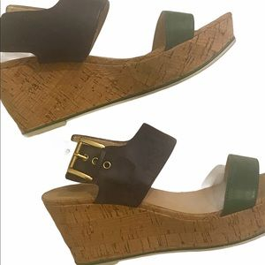 Tommy Hilfiger Cork Strappy Open Toe Sandals